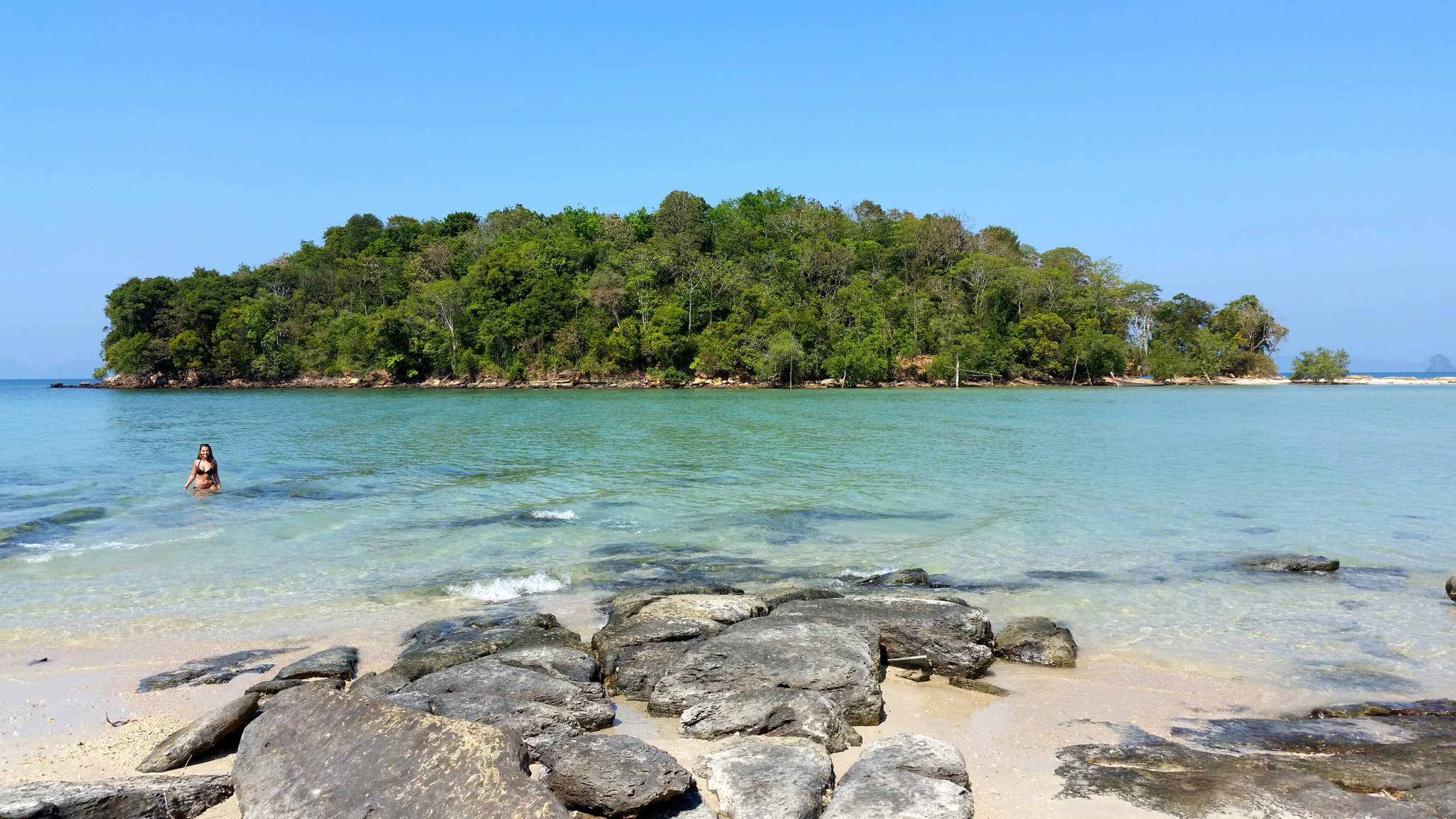 Im Meer auf Krabi