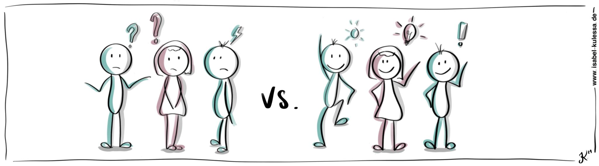 Positive Sprache verändert Kommunikation